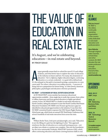 Page 11 of The Value of Education in Real Estate