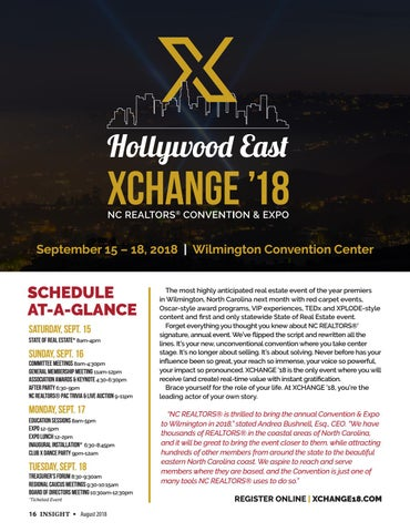 Page 16 of XCHANGE '18 Preview