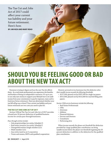 Page 22 of Should You Be Feeling Good or Bad About the New Tax Act?