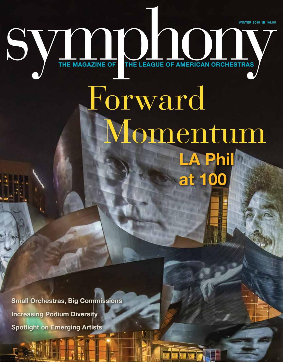 Symphony Winter 2019 by League of American Orchestras - issuu