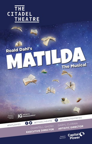 hot sale online aac8d c507d The Citadel Theatre playbill - Matilda The Musical by ...