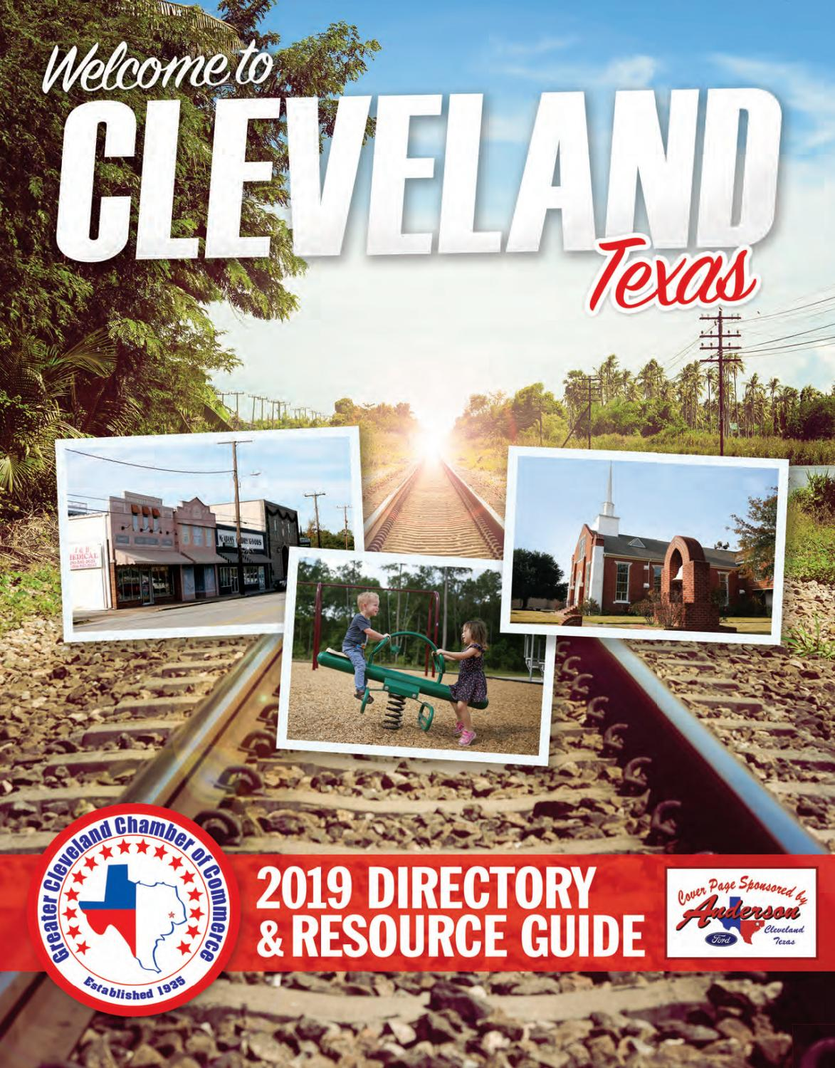 Cleveland Tx Community Guide 2019 By Town Square Publications Llc