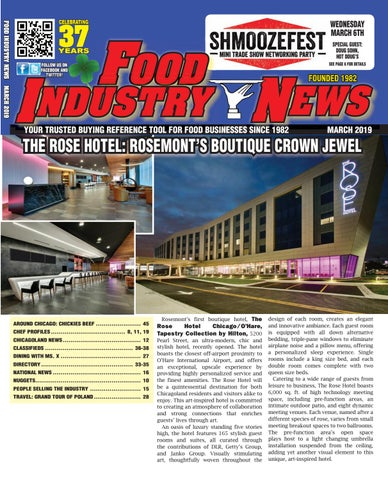 Food Industry News March 2019 web edition by