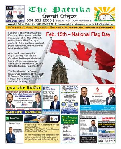 February 15, 2019 by Punjabi Patrika Media Ltd  - issuu