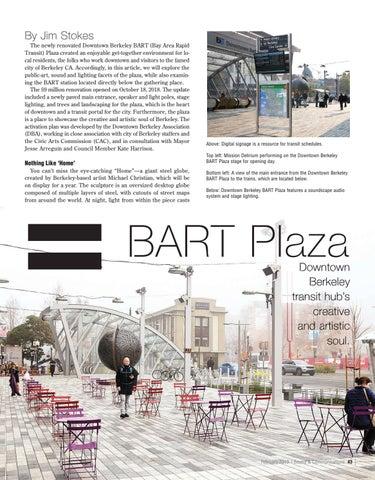 Page 43 of AUDIO ARTS + MASS TRANSIT = BART PLAZA