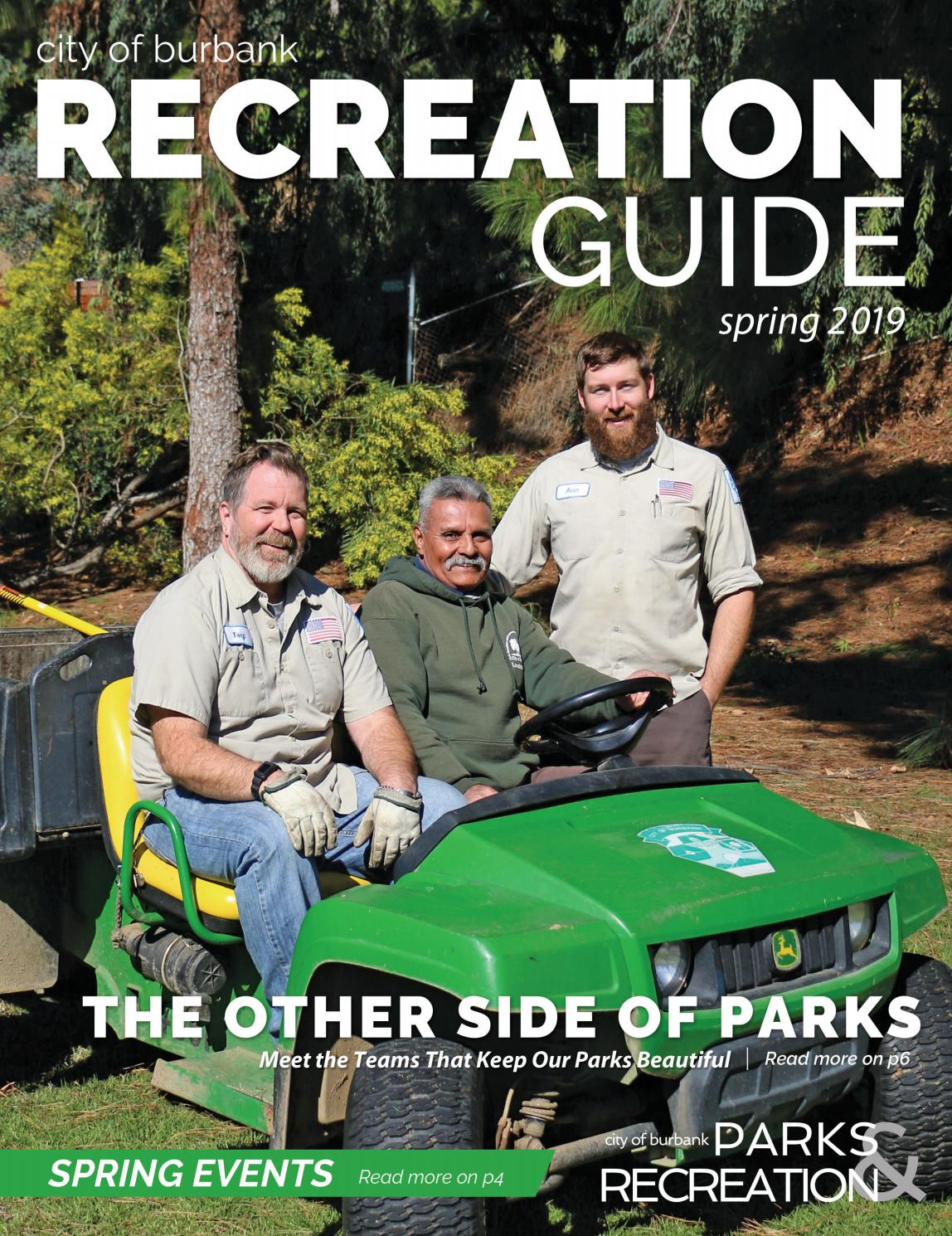 2019 Burbank Spring Recreation Guide by Burbank Parks and Recreation