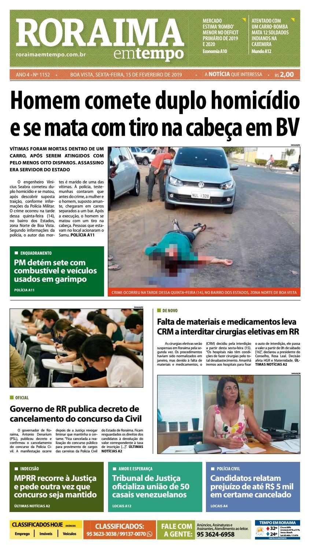 36bf4c9298c Jornal Roraima em tempo – edição 1152 by RoraimaEmTempo - issuu