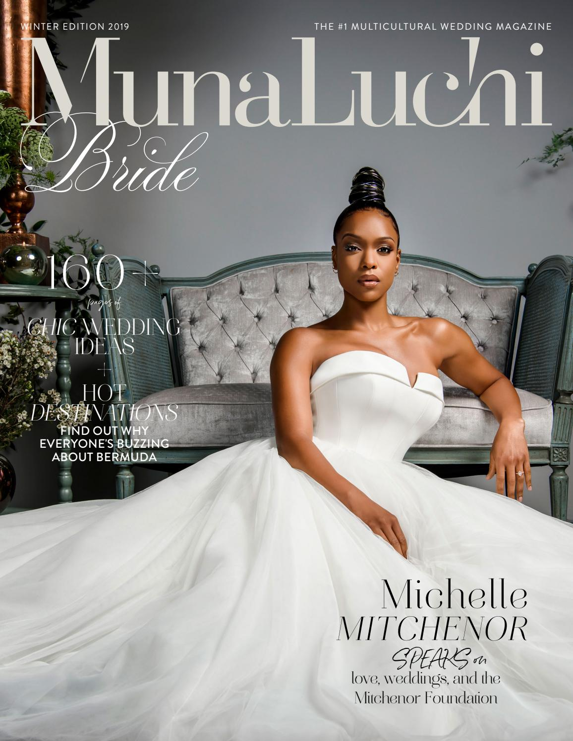 f3302821b62 Munaluchi Winter 2019 Wedding Magazine by Munaluchi - issuu