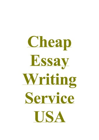 essay writing usa