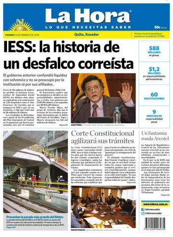 852d26a2754f73 TUNGURAHUA 10 DE ENERO DE 2019 by Diario La Hora Ecuador - issuu