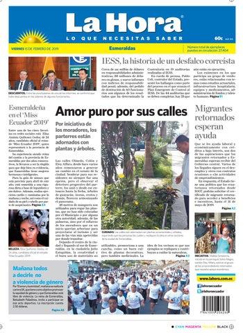 752c9ba292c32 Esmeraldas 15 de febrero de 2019 by Diario La Hora Ecuador - issuu
