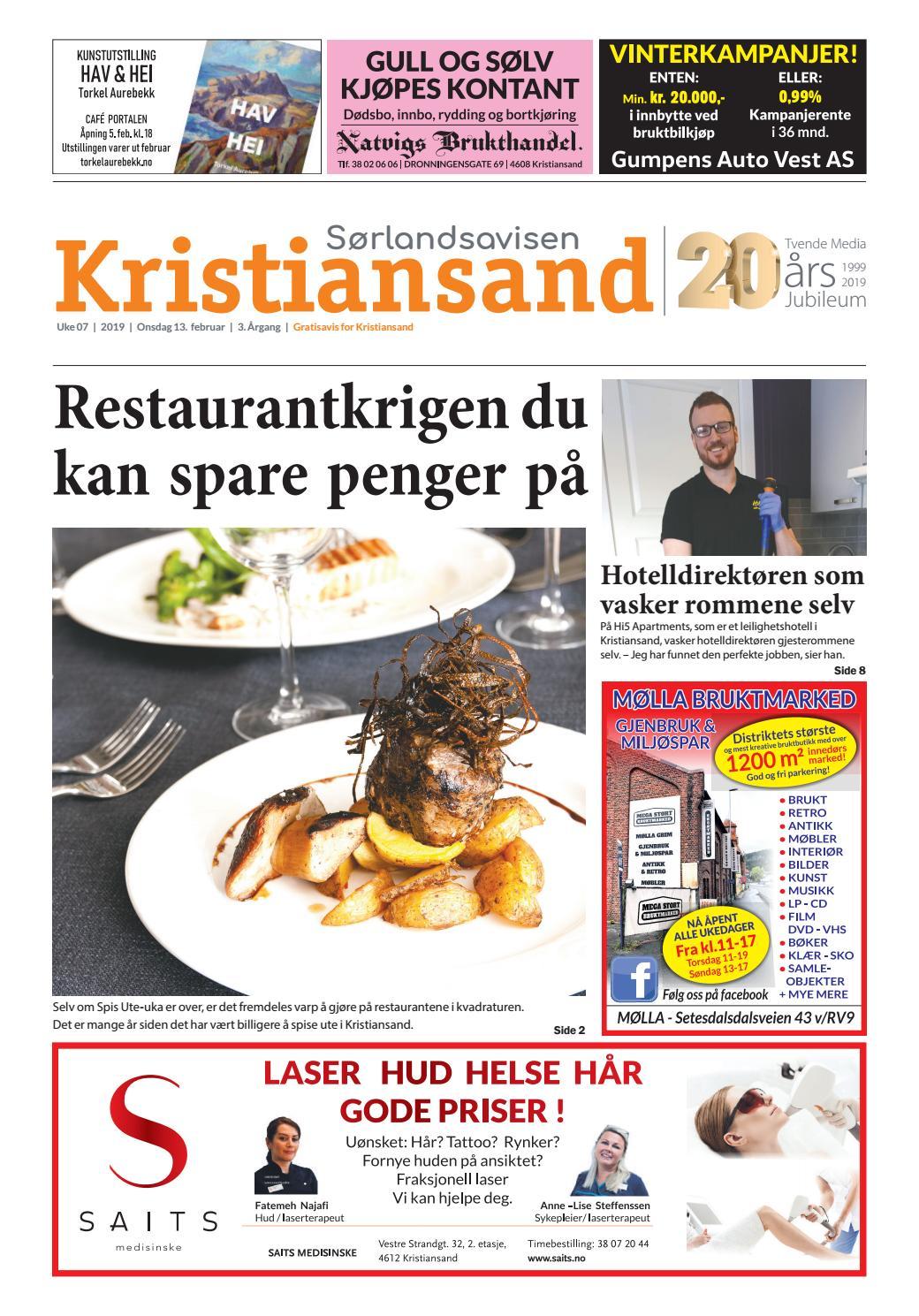 758754ce Sørlandsavisen Kristiansand - Uke 7 by Tvende Media AS - issuu