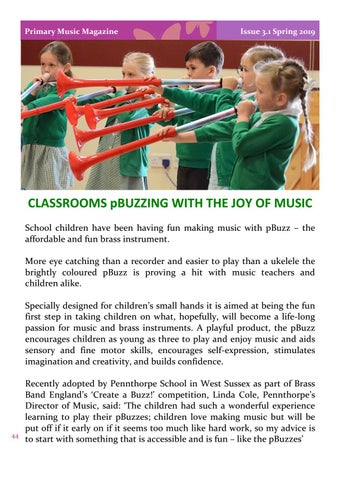 Page 44 of Classrooms pBuzzing with the Joy of Music