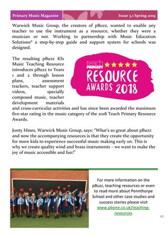 Page 45 of Classrooms pBuzzing with the Joy of Music