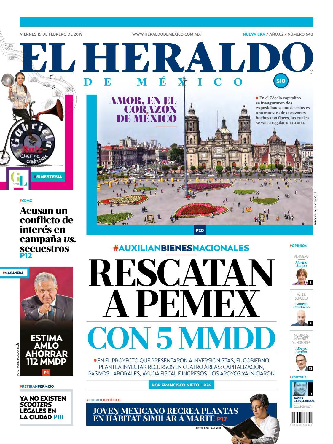 aec377f3982c3 15 de febrero de 2019 by El Heraldo de México - issuu