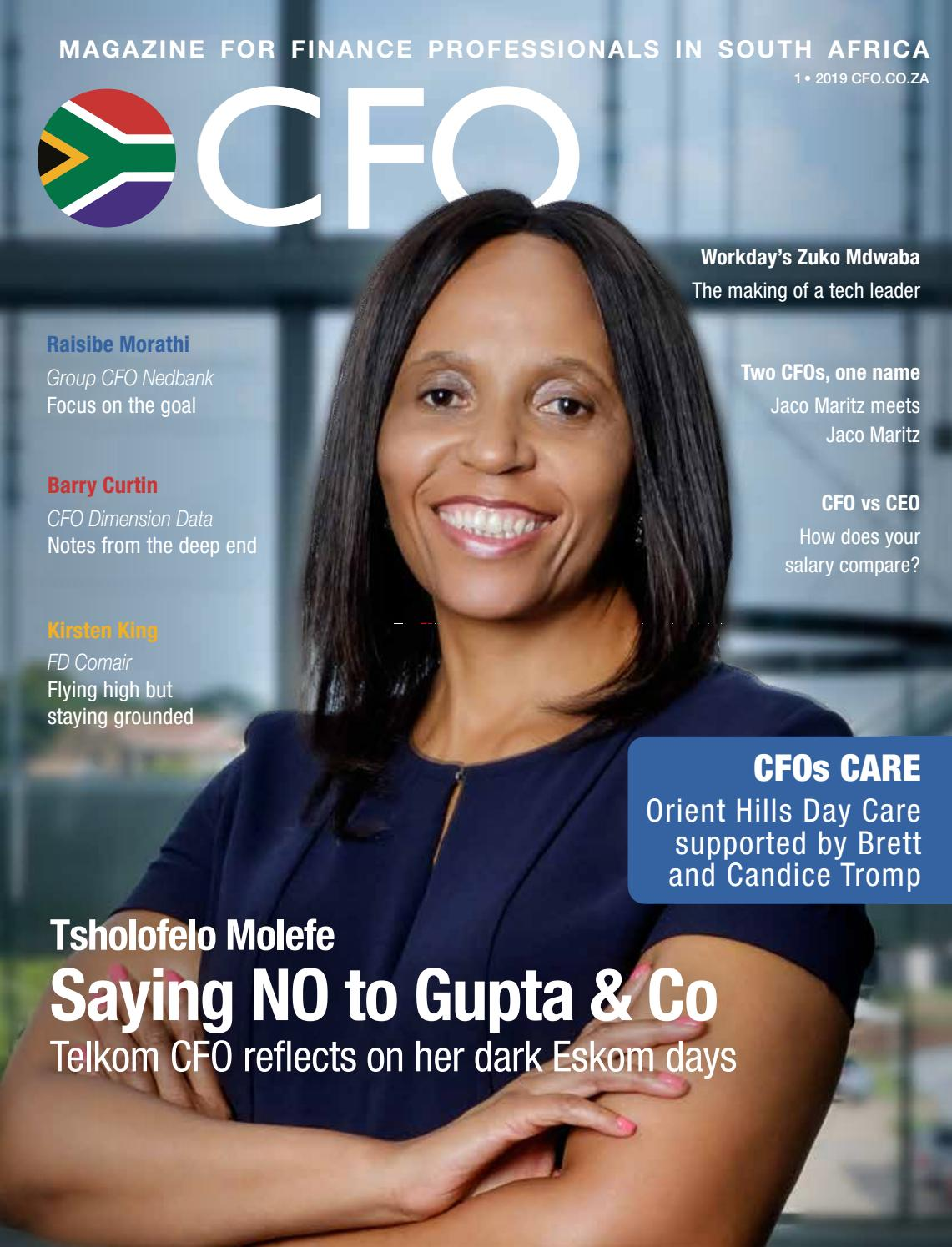 CFO South Africa Magazine 2019 - 1st Issue by CFO South Africa - issuu