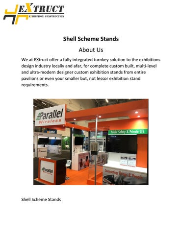 Exhibition Stand Organizer : Shell scheme stands by charles carter issuu