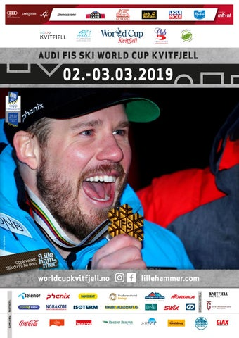 236bd5df1 AUDI FIS SKI World Cup Kvitfjell Magazine 2019 by IGT as - issuu