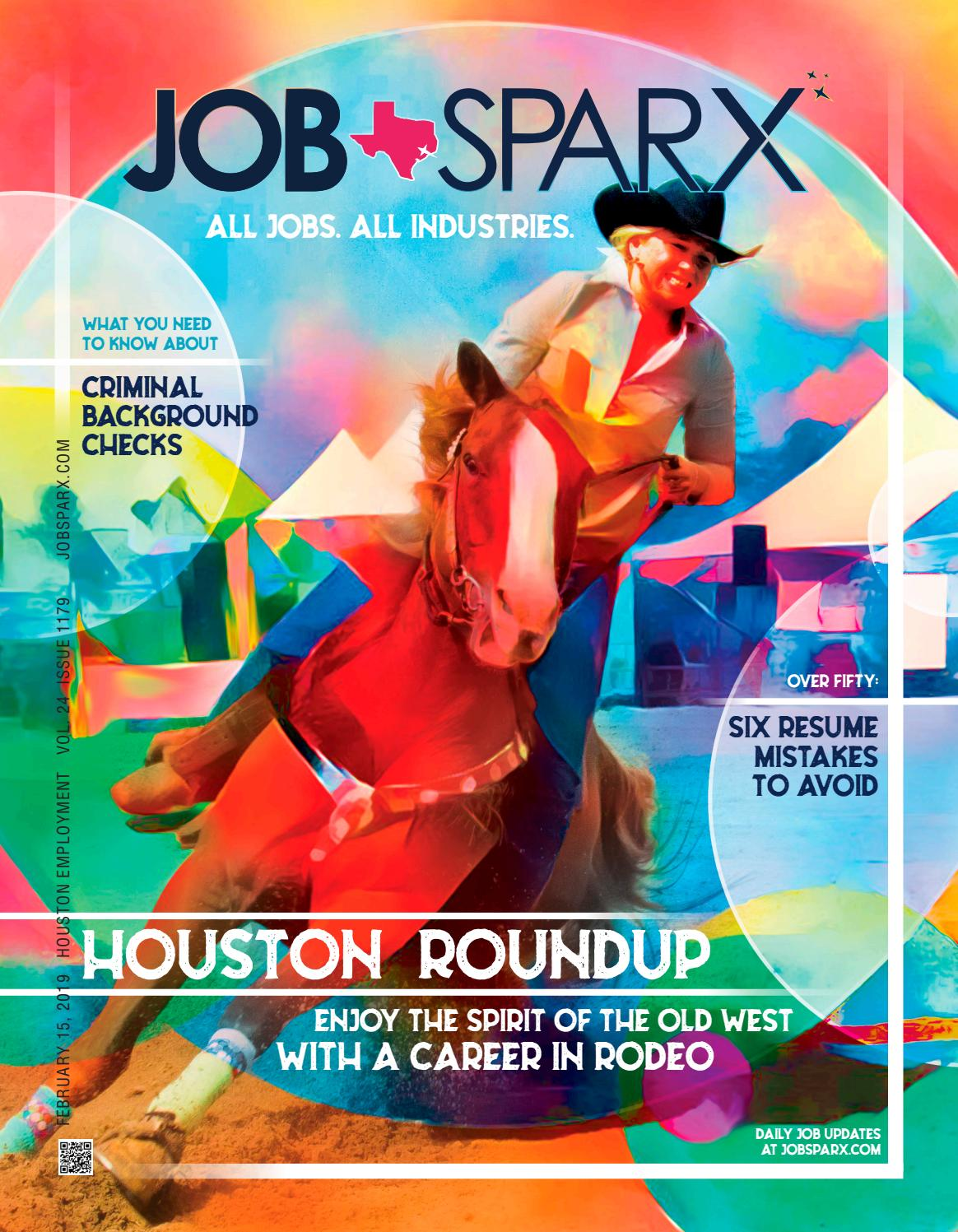 Jobsparx Magazine Houston Jobs February 15 2019 By Jobsparx Issuu
