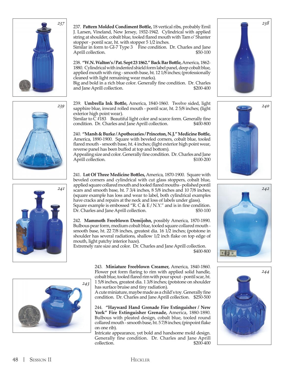 The Dr  Charles & Jane Aprill Collection - Beautiful Blue