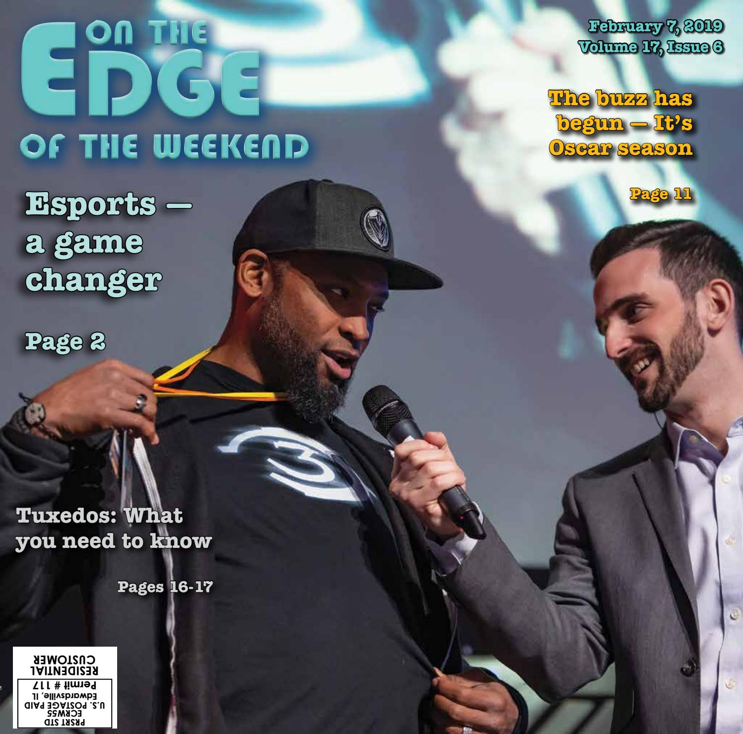 The Edge of the Weekend - Feb  7, 2019 by EDWARDSVILLE