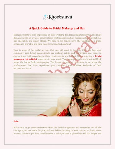 Bridal Makeup Cost In Delhi By