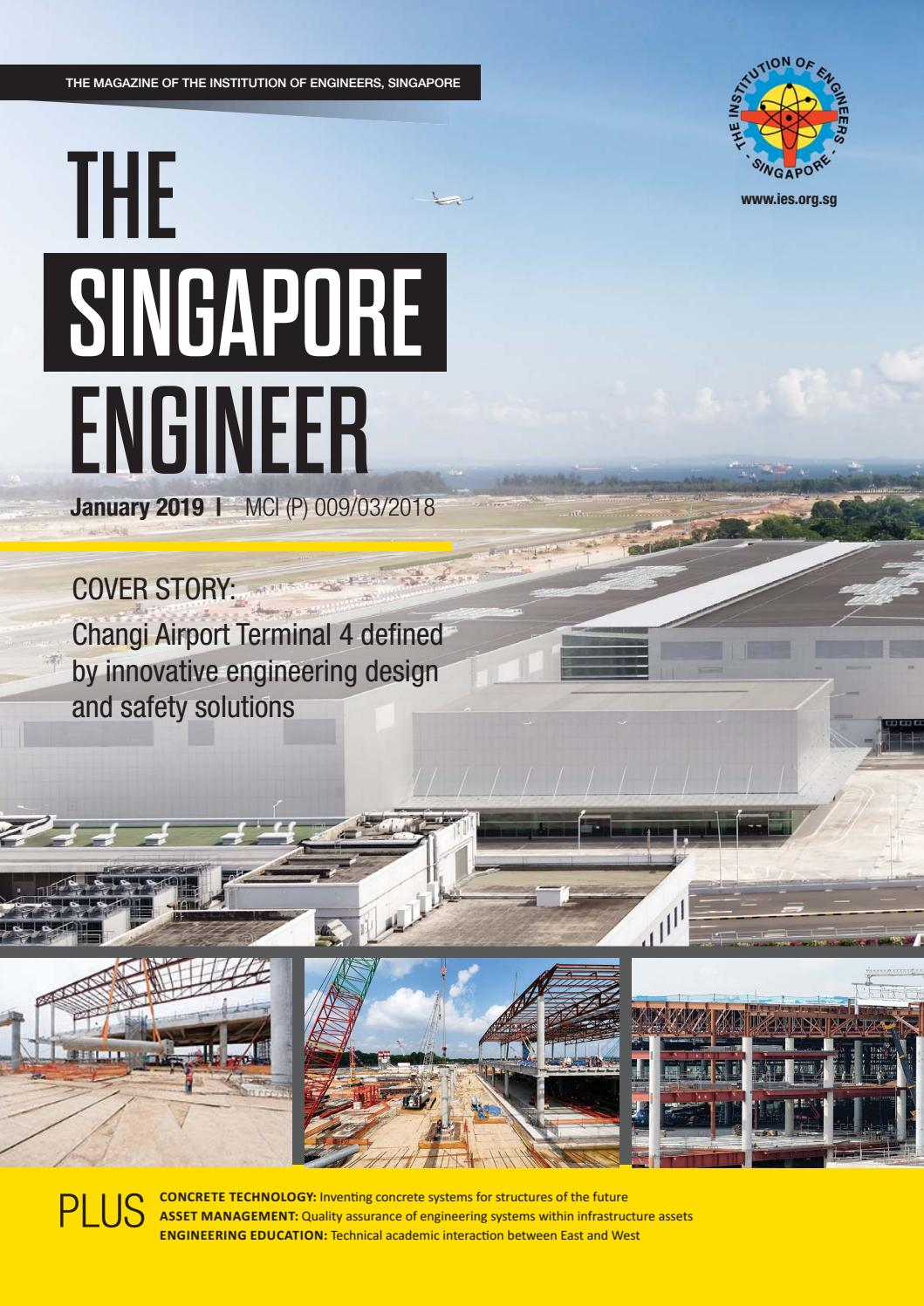 The Singapore Engineer January 2019 by The Singapore