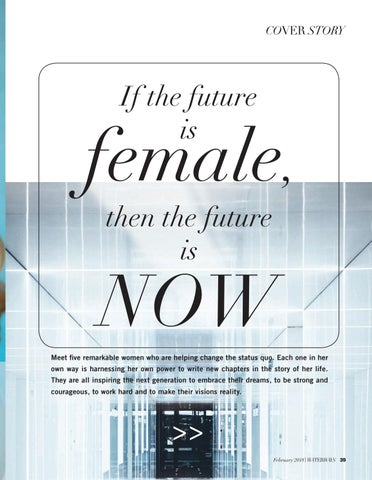 Page 41 of If the future is female, then the future is NOW