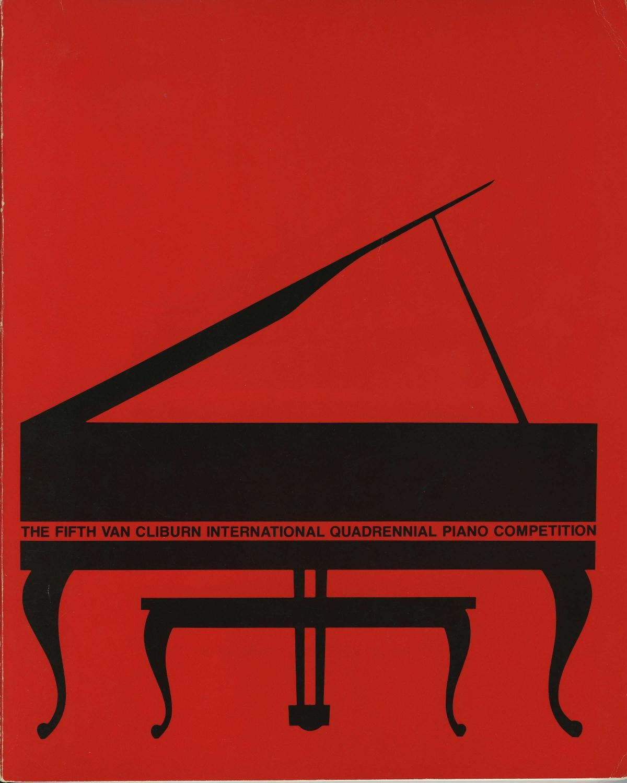 Fifth Van Cliburn International Piano Competition Program