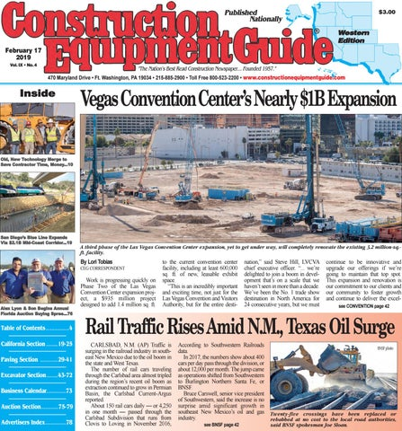 West 4 February 17, 2019 by Construction Equipment Guide - issuu