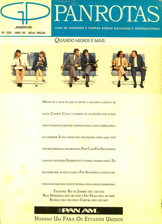 4ebef0cd4f Guia PANROTAS - Edição 202 - Janeiro 1990 by PANROTAS Editora - issuu