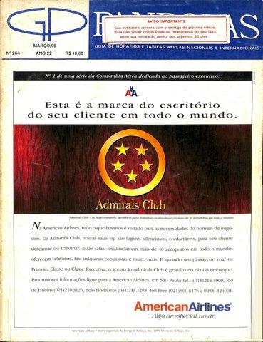 Guia PANROTAS - Edição 264 - Março 1995 by PANROTAS Editora - issuu 86b800a6889