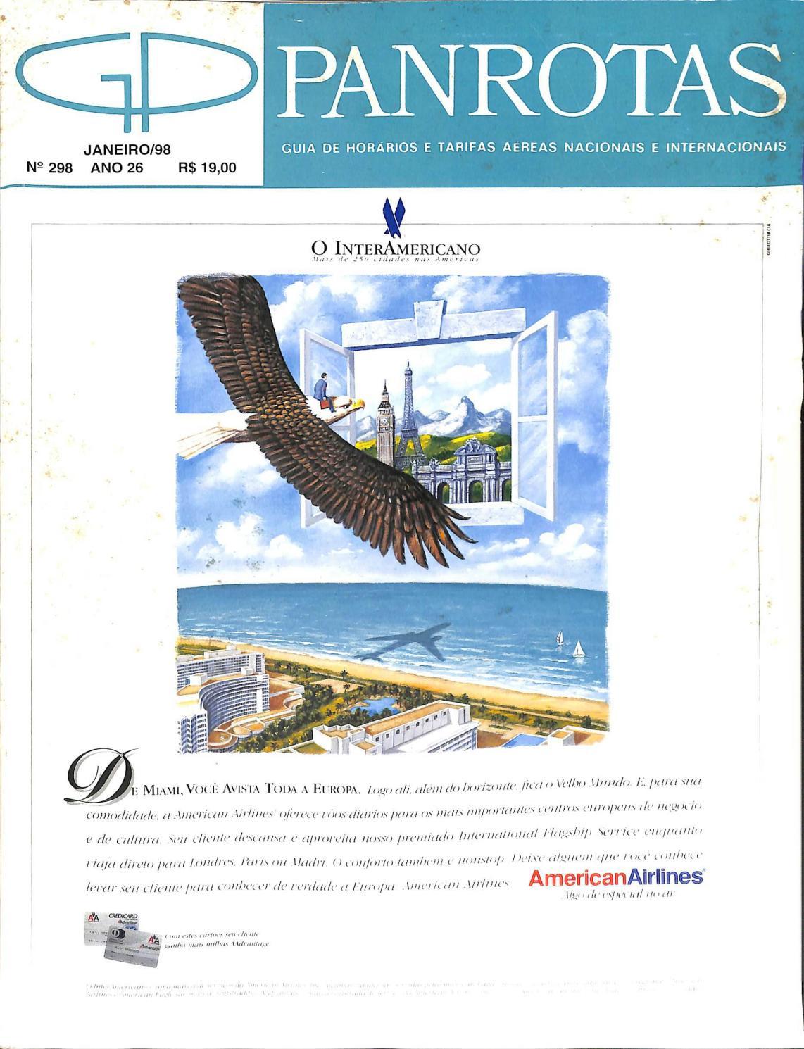 e6e24c1bb95 Guia PANROTAS - Edição 298 - Janeiro 1998 by PANROTAS Editora - issuu