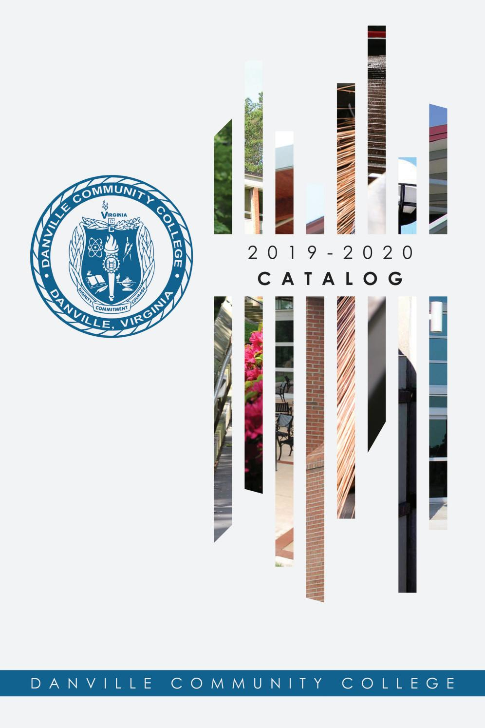 2019-2020 Catalog by Danville Community College - issuu