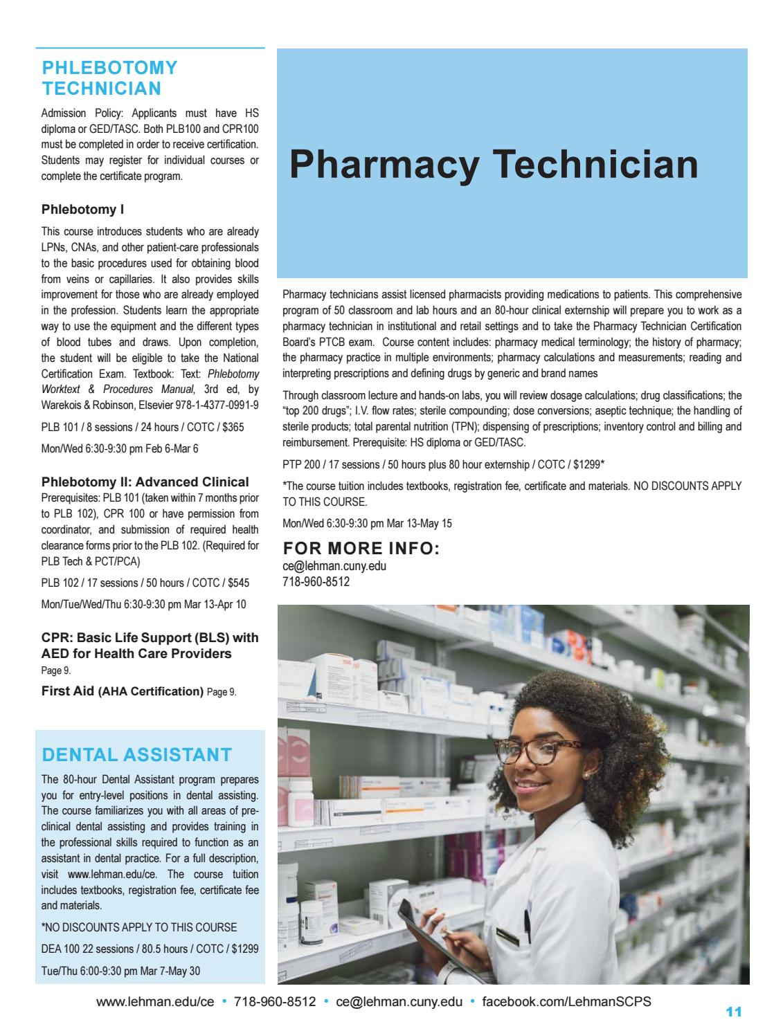 Lehman College Scps Spring 2019 Catalog By Lehman College Scps Issuu