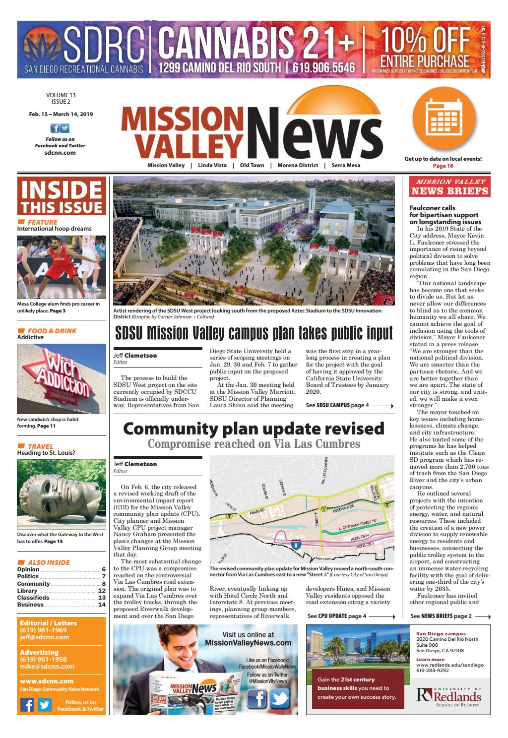 sneakers for cheap 6bd42 45d9c Mission Valley News, Vol. 13, Issue 2 by SDCNN - issuu