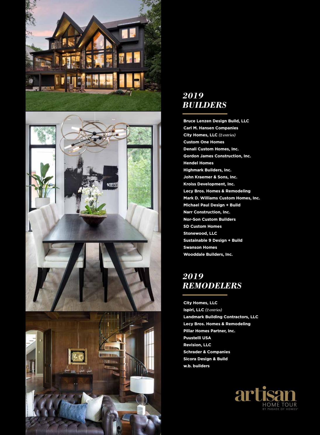 2019 Spring Parade Of Homes Guidebook By Housing First Minnesota Issuu