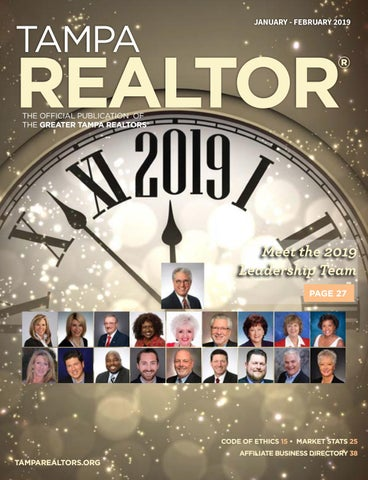 d7fc726aa404 Tampa REALTOR® Magazine - January February 2019 by Greater Tampa ...