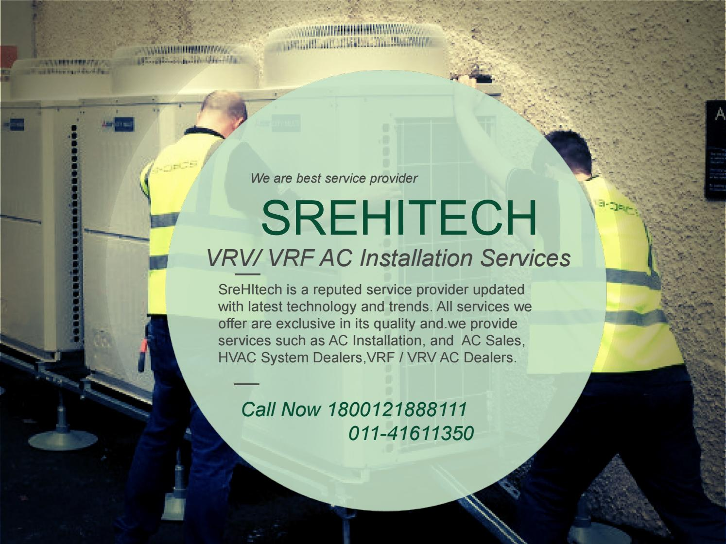 VRV/VRF System Service in India by srehitechvrf - issuu