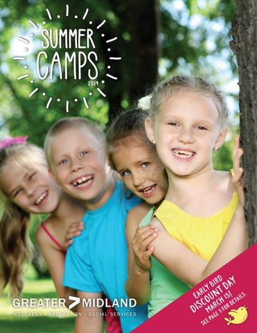 2019 Greater Midland Summer Camps Brochure by Greater