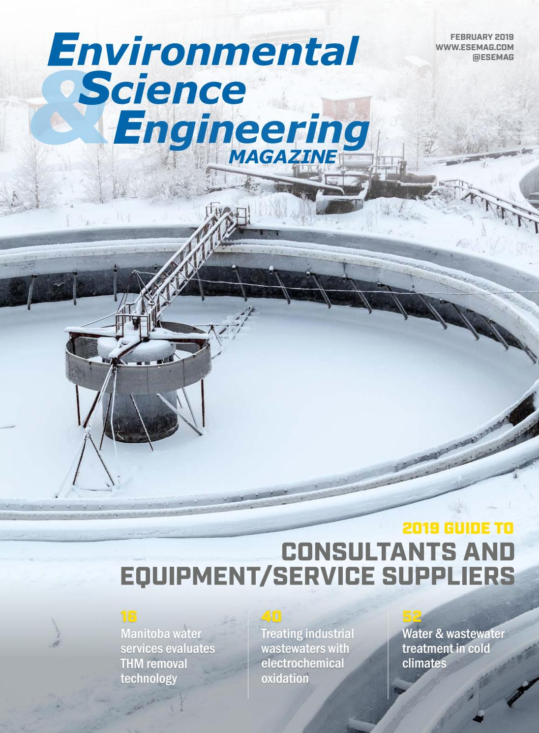 Environmental Science Amp Engineering Magazine Esemag