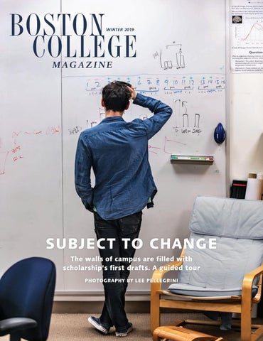 Boston College Magazine, Winter 2019 by Boston College - issuu