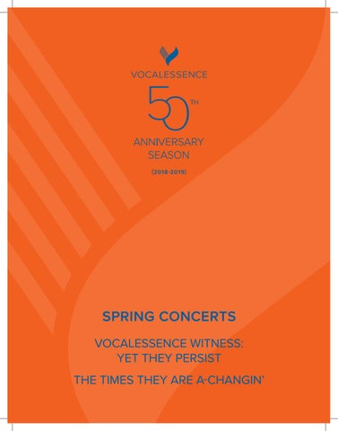 VocalEssence Spring Concert Program 2018-2019 by VocalEssence - issuu