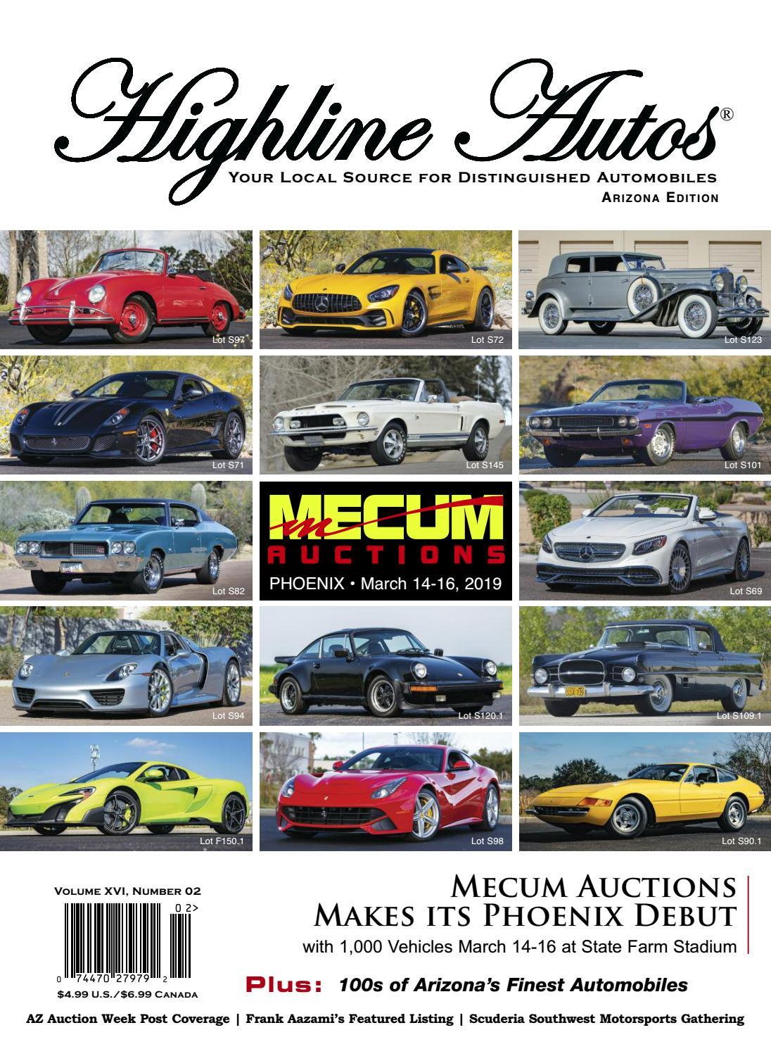 Highline Autos Volume XVI, Number 02