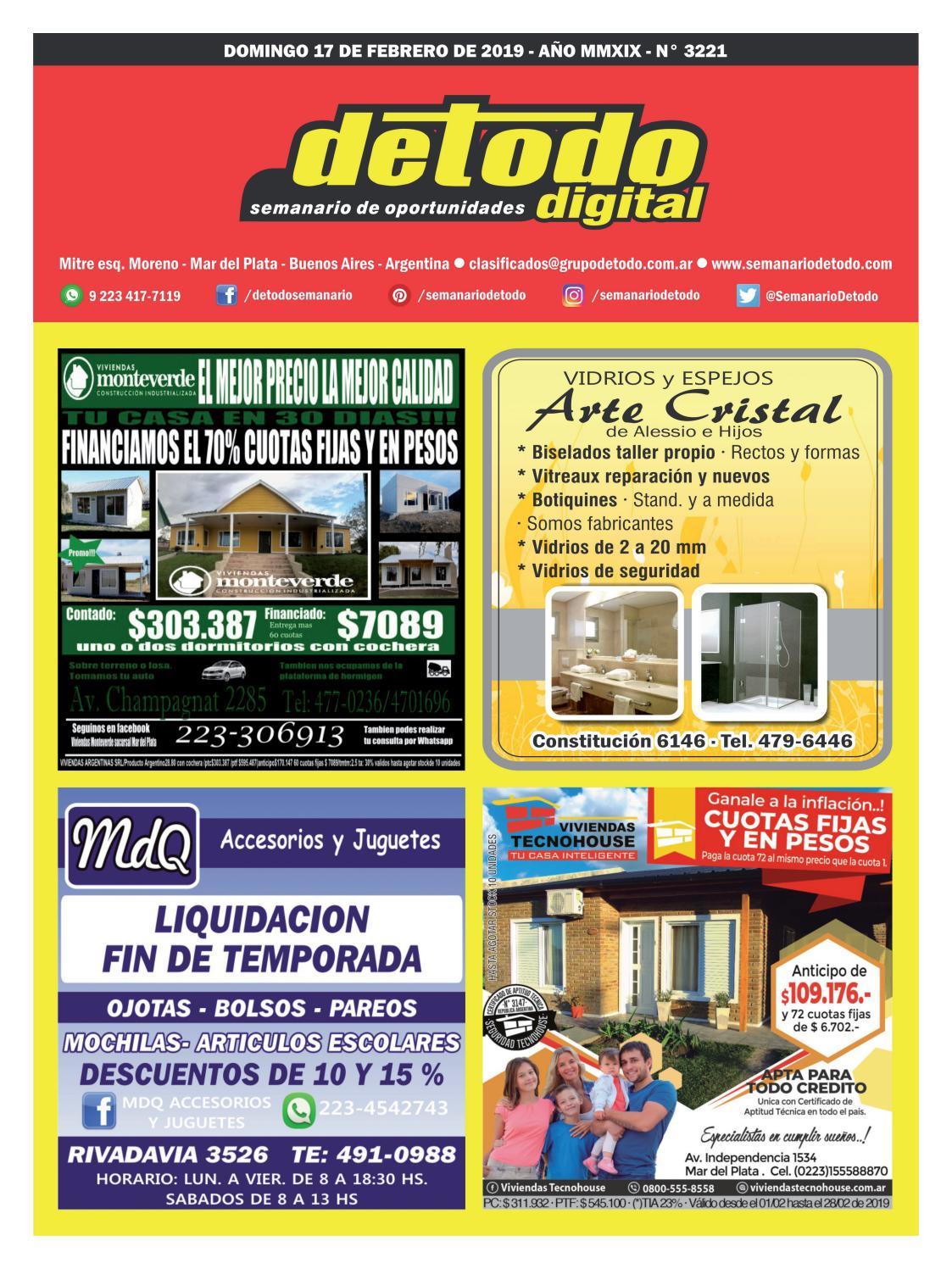 07bf0be6d384 Semanario Detodo - Edición N° 3221 - 17 02 2019 by Semanario Detodo - issuu
