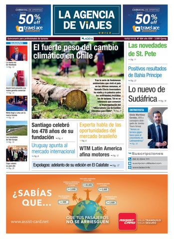 c04fce0f6 La Agencia de Viajes Chile N° 684 by Ladevi Media   Solutions - issuu