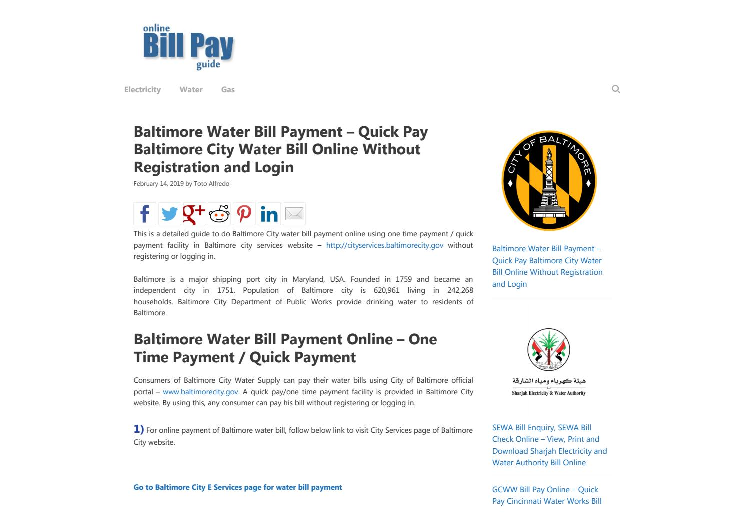 Baltimore Water by Humble Netizen - issuu