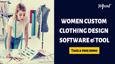 Use women custom clothing design software to make more sales