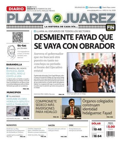 e2a41c602b778 16-02-19 by Diario Plaza Juárez - issuu