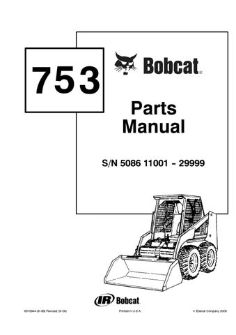 Bobcat 751 Wiring Diagrams  Bobcat S250 Parts Diagram